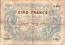 Algeria 5 Francs Mercury & Peasant - 1925