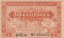 Algeria 50 Centimes - 1944 - Varied serial numbers - Fig trees