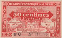 Algeria 50 Centimes - 31-1-1944 Série C -  UNC - P.100
