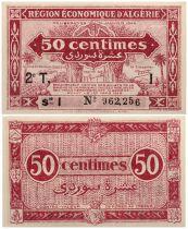 Algeria 50 Centimes - 31-1-1944 Série I -  UNC - P.100