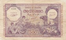 Algeria 500 Francs 1944 - Young boys, camel - 15-09-1944 Serial E.362