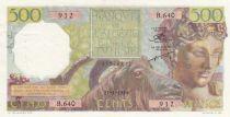 Algeria 500 Francs Bacchus - 27-01-1954 - XF - P.106