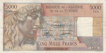 Algeria 5000 Francs Apollo - Triomphal arch of Trajan - 27-07-1950 -  Serial Z.618