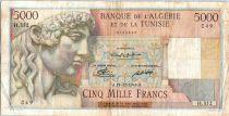 Algeria 5000 Francs Apollo - Triomphal arch of Trajan - H.352 - 1949