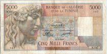 Algeria 5000 Francs Apollo - Triomphal arch of Trajan - N.567 - 1950