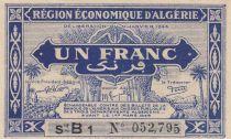 Algérie 1 Franc 1944 - Série B1