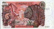 Algérie 10 Dinars  - Paon - 01-11-1970 Série V.024