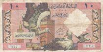 Algérie 10 Dinars - Cigognes - 1964 - TB+ - P.123a