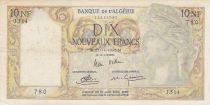 Algérie 10 Nouveaux Francs  - Statue romaine - 25-11-1960 Série J.514