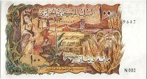 Algérie 100 Dinars  - Paysan, gazelle - 01-11-1970 Série N.002