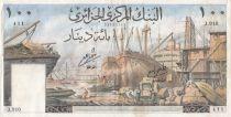 Algérie 100 Dinars Port d\'Alger - 1964 - TTB+ - P.125