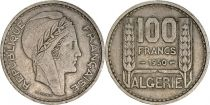 Algérie 100 Francs République Française - Turin 1950