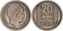 Algérie 20 Francs République Française - Turin 1949
