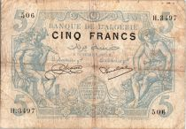 Algérie 5 Francs Mercure et Moissonneur - 1925