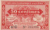 Algérie 50 Centimes - Région économique - 31-1-1944 Série C -  Neuf