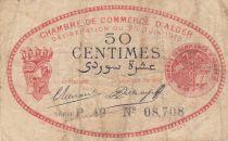 Algérie 50 Centimes 1919 - Chambre de commerce d\'Alger