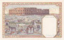 Algérie 50 Francs Couple - 18-09-1942 - Série P.1334