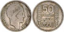 Algérie 50 Francs République Française - Turin 1949