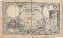 Algérie 500 Francs  Femmes et enfant - 29-06-1926 Série G.2