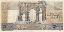 Algérie 5000 Francs Apollon - Arc de Triomphe de Trajan - 02-11-1949 -  Série Q.240