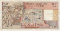 Algérie 5000 Francs Apollon - Arc de Triomphe de Trajan - 23-02-1950 -  Série M.473
