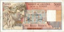 Algérie 5000 Francs Apollon - Arc de Triomphe de Trajan - G.469 - 1950