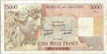 Algérie 5000 Francs Apollon - Arc de Triomphe de Trajan - J.135 - 1947
