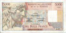 Algérie 5000 Francs Apollon - Arc de Triomphe de Trajan - K.297 - 1949