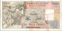 Algérie 5000 Francs Apollon - Arc de Triomphe de Trajan - N.280 - 1949