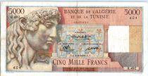 Algérie 5000 Francs Apollon - Arc de Triomphe de Trajan - R.492 - 1950