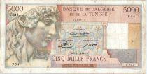 Algérie 5000 Francs Apollon - Arc de Triomphe de Trajan - T.242 - 1949