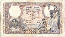 Algérie 5000 Francs Justice - 09/04/1942