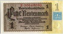 Allemagne (RDA) 1 Deutsche Mark - Brun et jaune - 1948