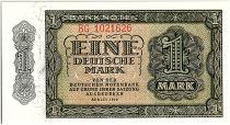 Allemagne (RDA) 1 Mark Vert et vert clair - 1948