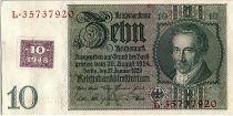 Allemagne (RDA) 10 Deutsche Mark - albrecht Daniel Thaer - 1948