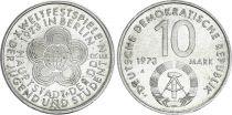 Allemagne (RDA) 10 Mark - Jeux de la Jeunesse - 1973   TTB à SUP