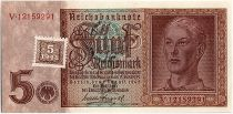 Allemagne (RDA) 5 Deutsche Mark - Jeune Homme - 1948
