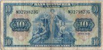 Allemagne (République Fédérale) 10 Deutsche Mark - Justice, travail - 1949 - N3279823G