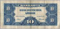 Allemagne (République Fédérale) 10 Deutsche Mark - Justice, travail - 1949 - N4227187W