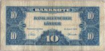 Allemagne (République Fédérale) 10 Deutsche Mark - Justice, travail - 1949 - N6897864W