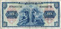 Allemagne (République Fédérale) 10 Deutsche Mark - Justice, travail - 1949 - R3890373E