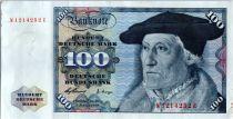 Allemagne (République Fédérale) 100 Deutsche Mark - Christoph Hamberger - Aigle  - 1960 - N1214252E