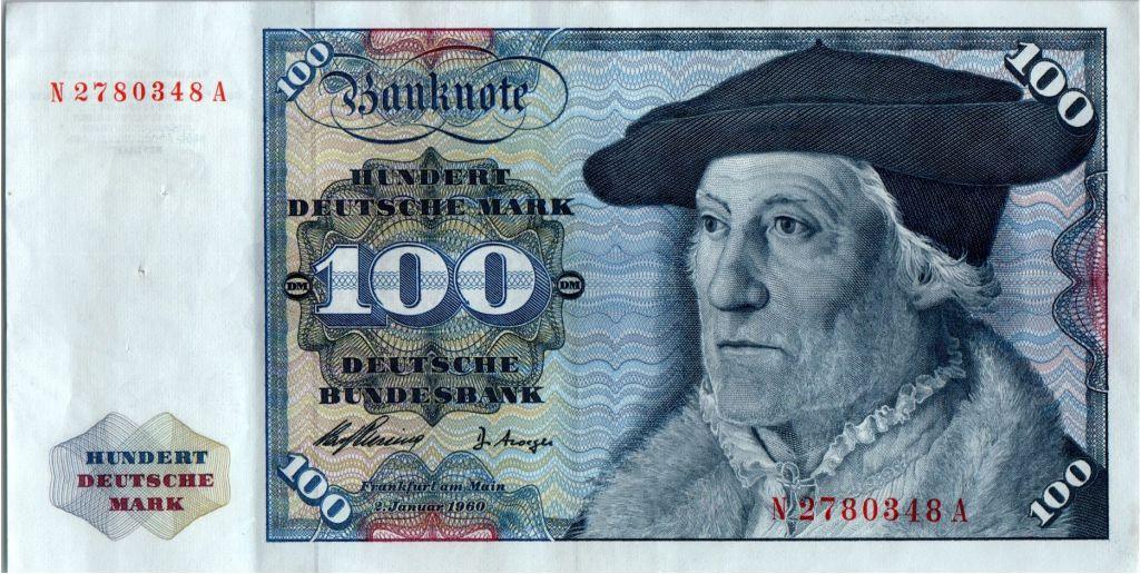 Allemagne (République Fédérale) 100 Deutsche Mark - Christoph Hamberger - Aigle  - 1960 - N2780348A