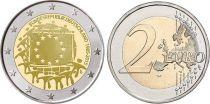 Allemagne (République Fédérale) 2 Euro 30 ans du Drapeau Européen - 2015 G