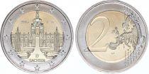 Allemagne (République Fédérale) 2 Euro Saxe, Palais Zwinger - 2016 F Stuttgart