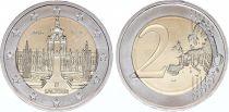 Allemagne (République Fédérale) 2 Euro Saxe, Palais Zwinger - 2016 G Karlsruhe