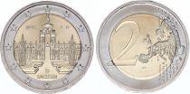 Allemagne (République Fédérale) 2 Euro Saxe, Palais Zwinger - 2016 J Hambourg