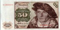 Allemagne (République Fédérale) 50 Deutsche Mark - Hans Urmiller - Lubeck  - 1960 - K1483543U