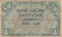 Allemagne (RFA) 1/2 D. Mark, 1948 - TB - P.1