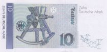 Allemagne (RFA) 10 D Mark - Carl Friedr Gauss - 1993 - Neuf - P.38c